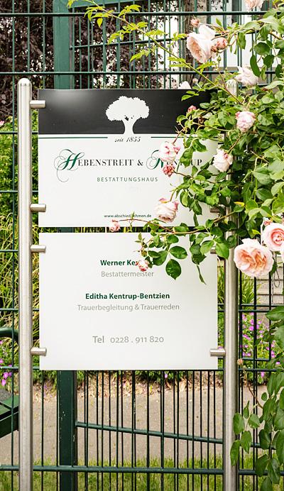 Hebenstreit Kentrup, Bestatter, Beerdigungen, Sarg, Urne in Bonn: Telefonnummer